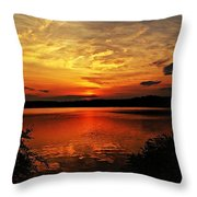 Sunset Xxv Throw Pillow