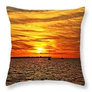 Sunset Xxxi Throw Pillow