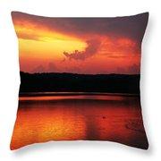 Sunset Xxxii Throw Pillow