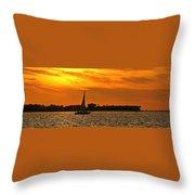 Sunset Xxxiii Throw Pillow