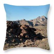 Sunspot Hill  Throw Pillow