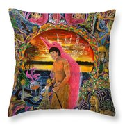 Supai Pucabufeo Throw Pillow
