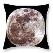 Super Moon 2012 Throw Pillow