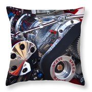 Supercharger Throw Pillow