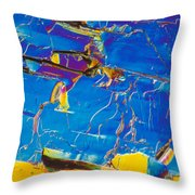 Superconductor Crystal Throw Pillow