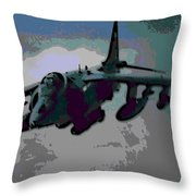 Superior Firepower Throw Pillow