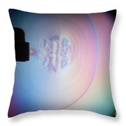 Supersonic Shockwave Throw Pillow by Ted Kinsman