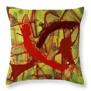 Supporting You Throw Pillow