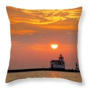 Supraliminal Sunrise Throw Pillow