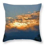 Supreem Sunset I Throw Pillow
