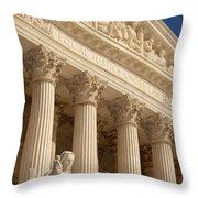 Supreme Court Throw Pillow