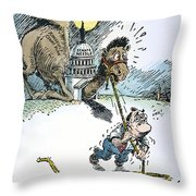 Supreme Court Reform Throw Pillow