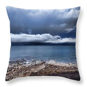 Surface Clouds Throw Pillow