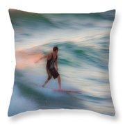 surfin' USA Throw Pillow