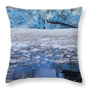 Surprise Glacier Throw Pillow