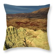 Surreal Colors Throw Pillow