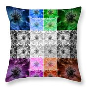 Surreal Poppies Throw Pillow