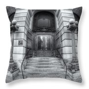 Surrogate's Courthouse II Throw Pillow