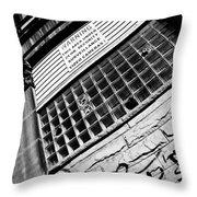 Surveilance Throw Pillow