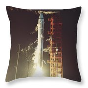 Surveyor 3 Launch Throw Pillow