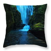 Susan Creek Falls Throw Pillow