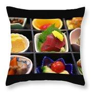 Sushi Art Throw Pillow
