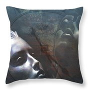 Suspended In Time Throw Pillow