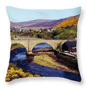 Sutherland Scotland Throw Pillow