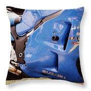 Suzuki Hayabusa Throw Pillow