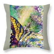 Swallowtail 1 Throw Pillow