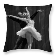Swan Lake  White Adagio  Russia 2 Throw Pillow by Clare Bambers