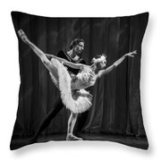 Swan Lake  White Adagio  Russia 3 Throw Pillow by Clare Bambers