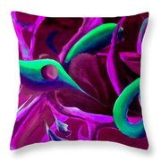 Swaying In Harmony 3 Throw Pillow