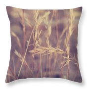 Swaying In The Soft Summer Breeze Throw Pillow