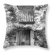 Swedenborgs Cottage Throw Pillow