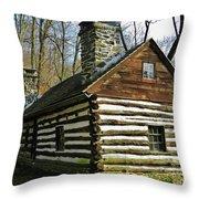 Swedish Cabin Throw Pillow