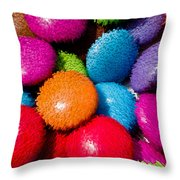 Sweet Abstract 3d Throw Pillow