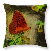 Sweet Afternoon Breeze Throw Pillow