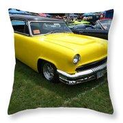 Sweet Citrus Throw Pillow