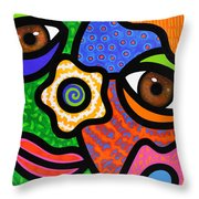 Sweet Escape Throw Pillow by Steven Scott