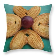 Sweet Flower Throw Pillow
