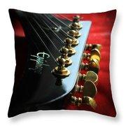 Sweet Guitar Throw Pillow