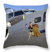 Sweet Liberty Throw Pillow