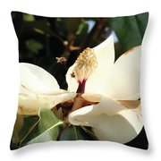 Sweet Magnolia Throw Pillow
