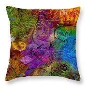 Sweet Songs Of Nature Throw Pillow