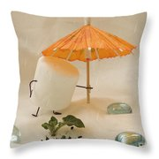 Sweet Sprouts Throw Pillow