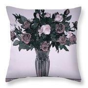 Sweet Valentine Bouquet  Throw Pillow