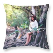 Sweetwater Strand 005 Throw Pillow
