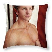 Swimmer 2 Throw Pillow