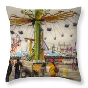 Swinging Throw Pillow